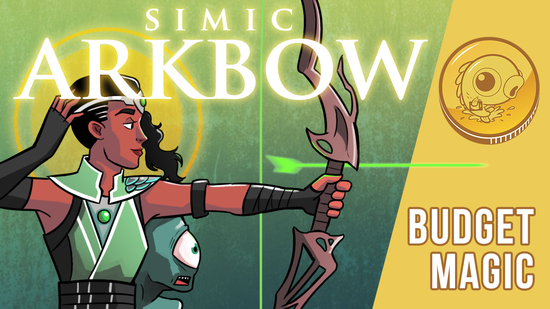Image for Budget Magic: $94 (13 tix) Simic Arkbow (Standard, Magic Arena)
