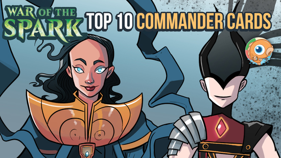 Image for War of the Spark: Top 10 Commander Cards