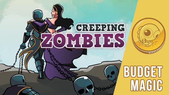 Image for Budget Magic: $89 (2 tix) Creeping Zombies (Standard, Magic Arena)