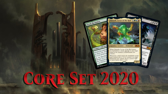 Image for Core Set 2020 Spoilers — June 20, 2019 | Omnath and Black Cavalier