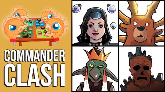 Image for Commander Clash S6 E21: More Modern Horizons! (Ayula vs. Hogaak vs. Kess vs. Pashalik)