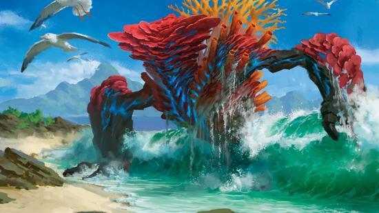 Mtg risen reef m20