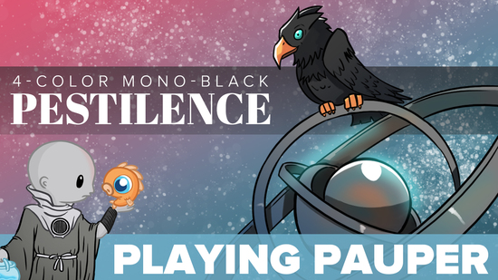 Playing pauper 4c mono black pestilence  1