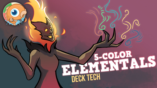 preview image for Instant Deck Tech: Five-Color Elementals (Modern)