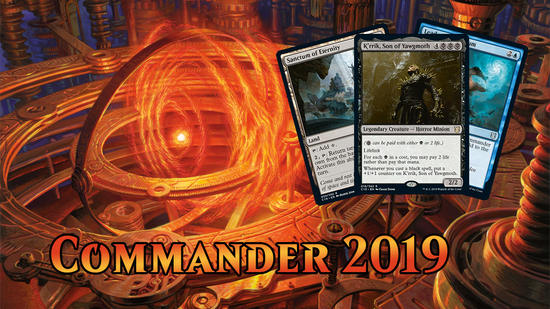 preview image for Commander 2019 Spoilers — August 2, 2019 | K'rrik, Son of Yawgmoth