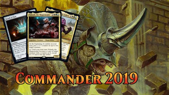 preview image for Commander 2019 Spoilers — August 5, 2019 | Gerrard, Volrath, Rayami