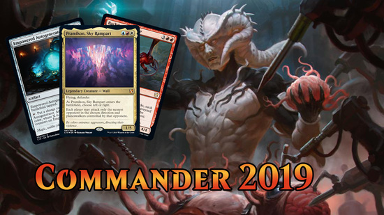 preview image for Commander 2019 Spoilers — August 6, 2019 | Legendary Wall!