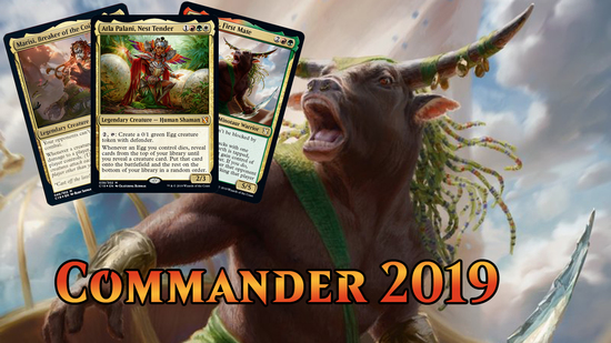 preview image for Commander 2019 Spoilers — August 7, 2019 | Egg Commander
