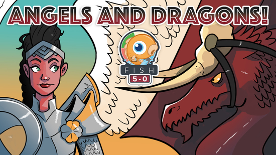 preview image for Fish Five-0: Angels and Dargons! (Standard, Magic Arena)
