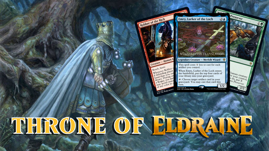 Image for Throne of Eldraine Spoilers — September 10, 2019 | Robin Hood, Jack and the Beanstalk