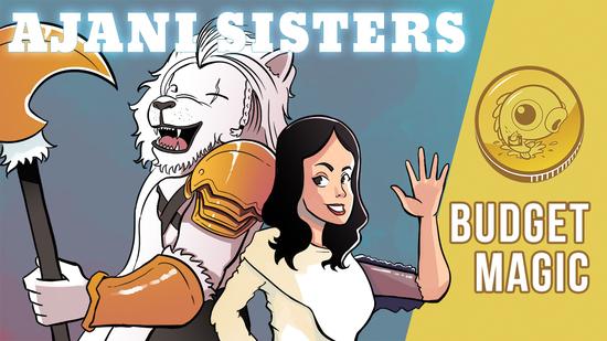 Image for Budget Magic: $96 (35 tix) Ajani Sisters (Modern, Magic Online)
