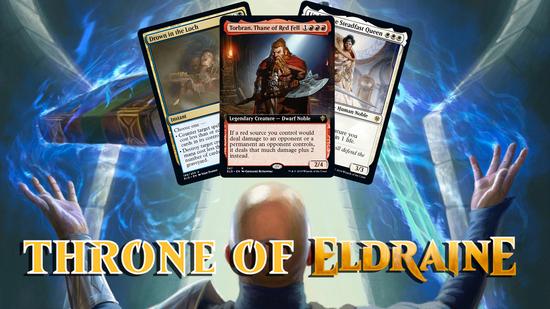 Image for Throne of Eldraine Spoilers — September 16, 2019 | Torbran, Yorvo