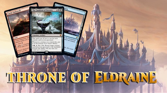 preview image for Throne of Eldraine Spoilers — September 17, 2019 | Rare Land Cycle