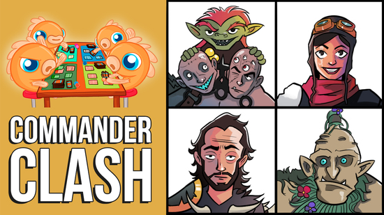 Image for Commander Clash S7 E1: Anything Goes! (Depala vs. Ghired vs. Grismold vs. Kraum & Vial Smasher)