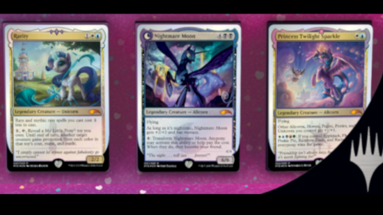 Image for Ponies: The Galloping - MLP MTG Charity Crossover Collector's Set!