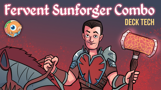 preview image for Instant Deck Tech: Fervent Sunforger Combo (Modern)
