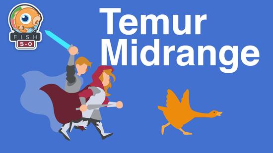 preview image for Fish Five-0: Temur Midrange (Standard, Magic Arena)