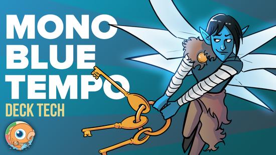 preview image for Instant Deck Tech: Mono-Blue Tempo (Standard)