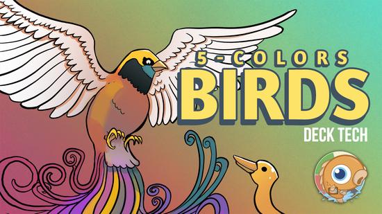 Image for Instant Deck Tech: Five-Color Birds (Modern)