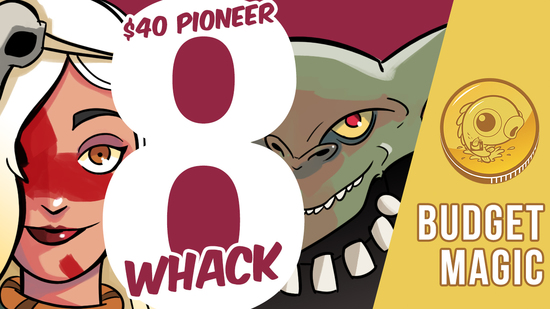 preview image for Budget Magic: $43 (18 tix) 8 Whack (Pioneer, Magic Online)