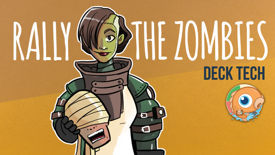 preview image for Instant Deck Tech: Rally the Zombies (Modern)