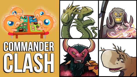 preview image for Commander Clash S7 E10: Anything Goes | Gargos vs. Horde of Notions vs. Mogis vs. Yidris