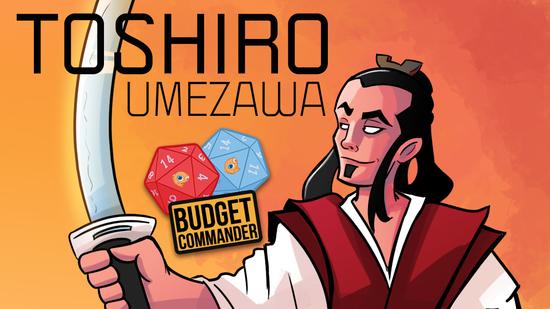 Image for Budget Commander: Toshiro Umezawa | Spellslinger Control | $25, $50, $100, $200