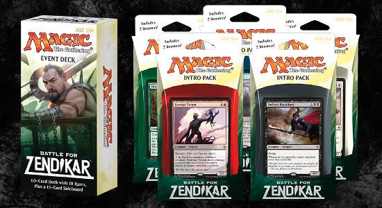 Image for Battle for Zendikar Event Deck and Intro Pack Decklists