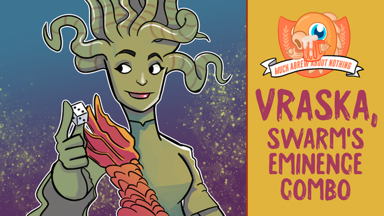 preview image for Much Abrew: Vraska, Swarm's Eminence Combo (Pioneer, Magic Onine)