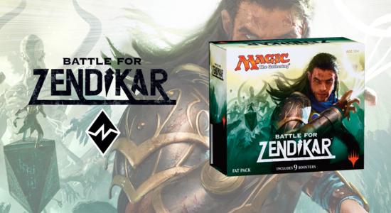 Image for Battle for Zendikar Fat Pack Unboxing