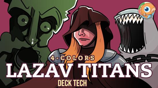 Image for Instant Deck Tech: Four-Color Lazav Titans (Modern)