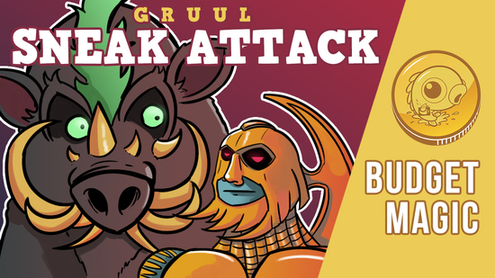 Image for Budget Magic: $92 (37 tix) Gruul Sneak Attack (Standard, Magic Arena)