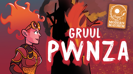 Image for Modern Mayhem: Gruul Pwnza (Modern, Magic Online)