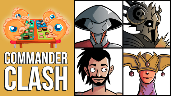 Image for Commander Clash S7 E23: Anything Goes | Daxos vs. Golos vs. Karona vs. Thraximundar