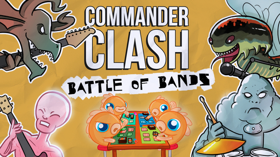 Image for Commander Clash S7 E24: Battle of the Bands | Ghost vs. Muse vs. My Chemical Romance vs. Ween