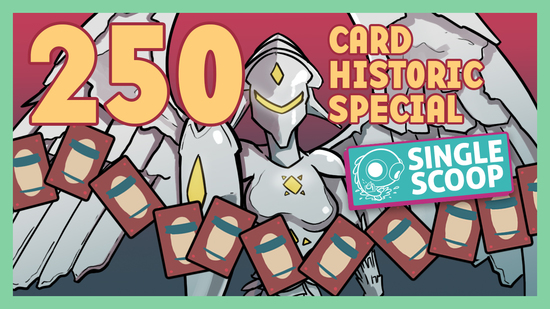 Image for Single Scoop: 250 Card Historic Special