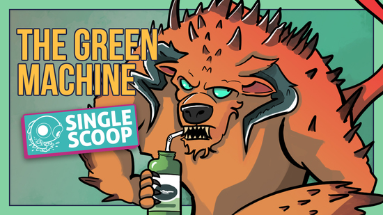 Image for Single Scoop: The Green Machine