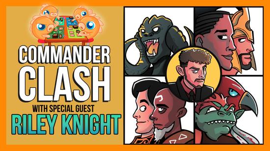 Image for Commander Clash S8 E3: 4C Week w/ Riley Knight | Kynaios & Tiro vs. Ishai & Vial Smasher vs. Silas & Sidar vs. Yidris