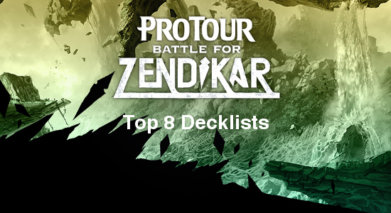 Image for Pro Tour Battle for Zendikar Top 8 Decklists
