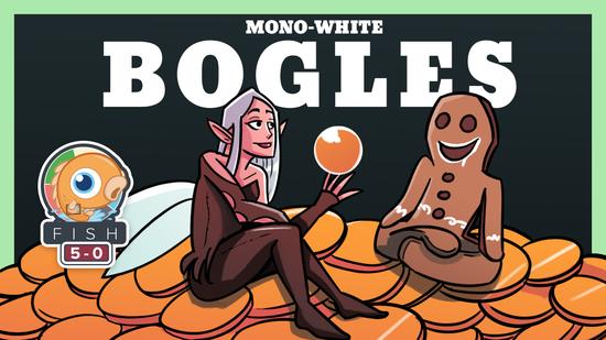 Image for Fish Five-0: Mono White Bogles (Standard)
