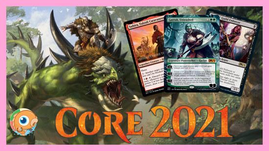 Image for Core Set 2021 Spoilers — June 11 | Garruk, Unleashed!