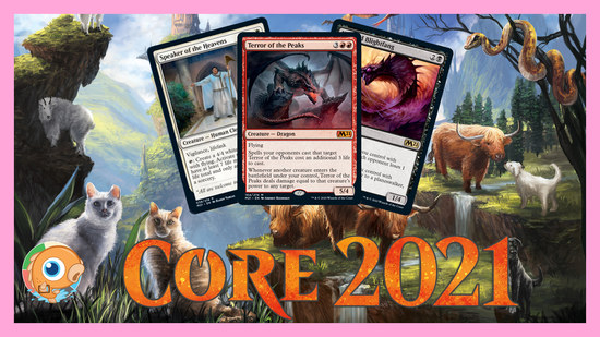 Image for Core Set 2021 Spoilers — June 13 | Mythic Dragon, Deathtouch Tribal