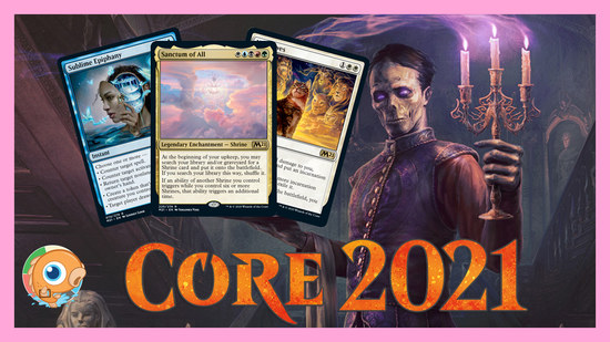 Image for Core Set 2021 Spoilers — June 15 | Mega Cryptic Command and Shrines