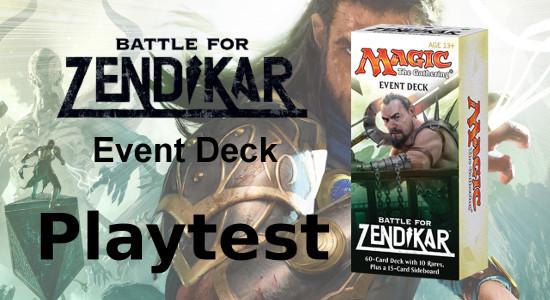 Image for Playtest: Battle for Zendikar Event Deck