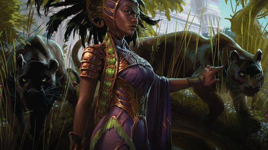 Image for Commander Review: Core Set 2021 | Part 3 | Green, Multicolor, Lands