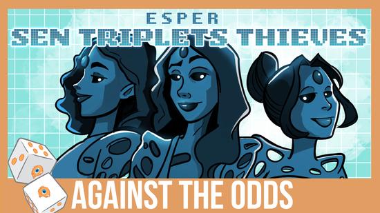 Image for Against the Odds: Esper Sen Triplets Thieves (Modern)