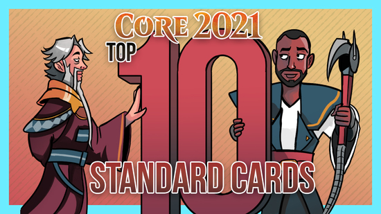 Image for Core Set 2021: Top 10 Standard Cards