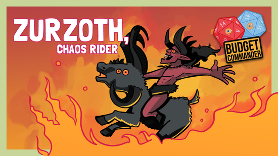 Image for Budget Commander: Dance With The Devil | Zurzoth, Chaos Rider | $50, $100, $200