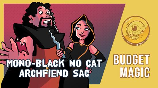 Image for Budget Magic: Mono-Black No Cat Archfiend Sac (Standard)