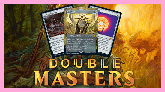 Image for Double Masters Spoilers — July 23 | Ensnaring Bridge, Mox Opal